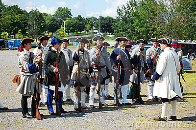 Founder s Day in Ogdensburg, New York State Editorial Photography