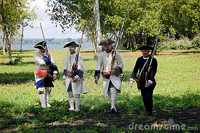 Founder s Day in Ogdensburg, New York State Editorial Stock Image