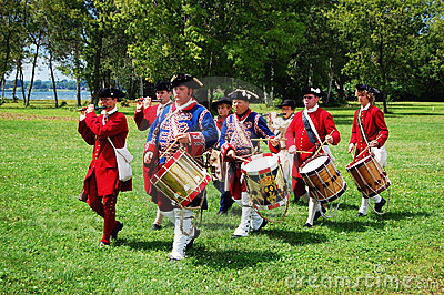 Founder s Day in Ogdensburg, New York State Editorial Stock Photo