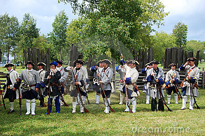 Founder s Day in Ogdensburg, New York State Editorial Image