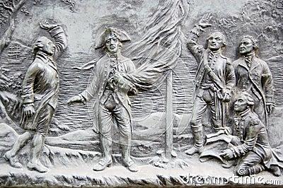 Founding of Australia plaque