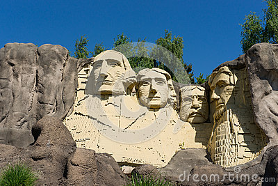The founding fathers in LEGO Bricks Editorial Image