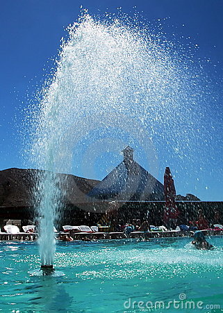 Fountain in Aqua Park
