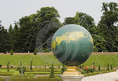 Fountain of the celestial sphere