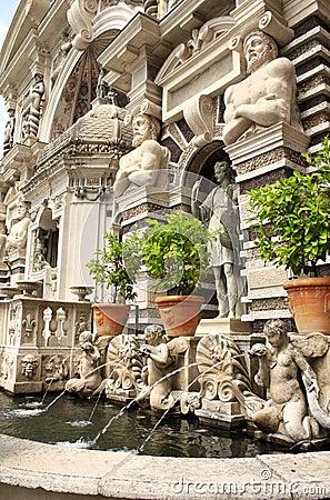 Fountain dell organo in Gardens of Villa d Este