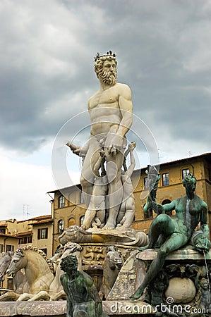 Fountain Florence Tuscany Italy