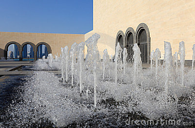 Fountain at Islamic Museum, Doha