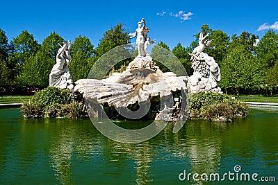Fountain of love in Cliveden garden