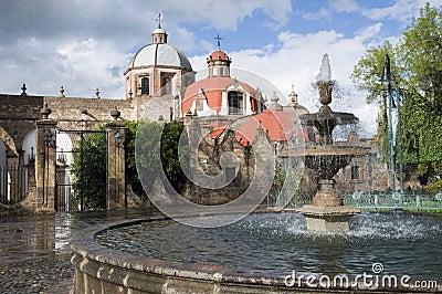 Fountain in Morelia, Mexico