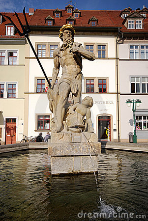 Fountain of Neptune (Weimar)