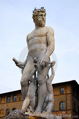 Free Fountain Of Neptune Detail Stock Image - 11693401
