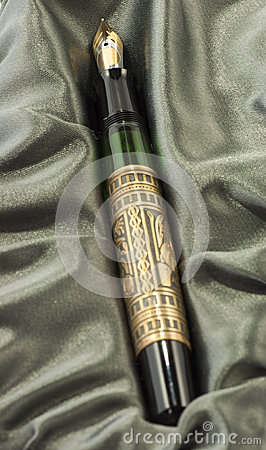 Fountain Pen with cloth