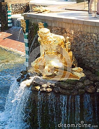 Fountain At Peterhof, St. Petersburg