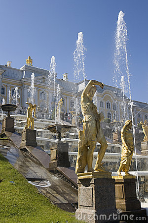 Fountain in Petrodvorets