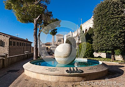 Fountain in Republic of San Marino