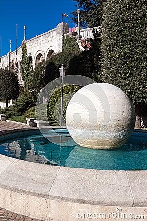 Fountain in Republic of San Marino