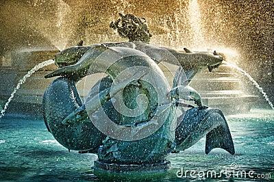 Fountain at Trafalgar Square
