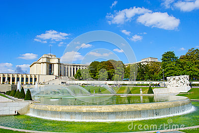Fountain of the Trocadero