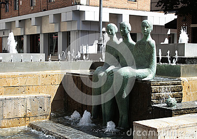 Fountain in Valladolid