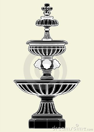 Fountain Vector 03