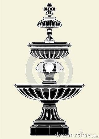Fountain Vector 03