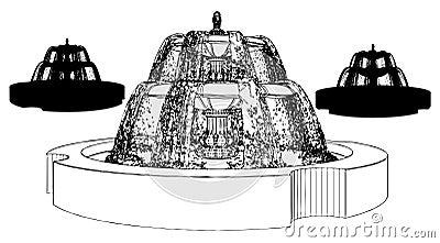 Fountain Vector 10
