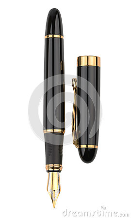 Free Fountain Writing Pen Isolated On White Background Royalty Free Stock Photos - 62601628