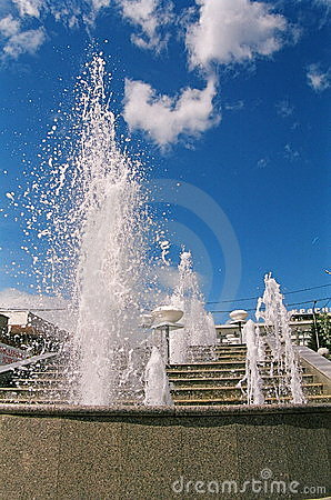 Free Fountains Stock Photography - 728302