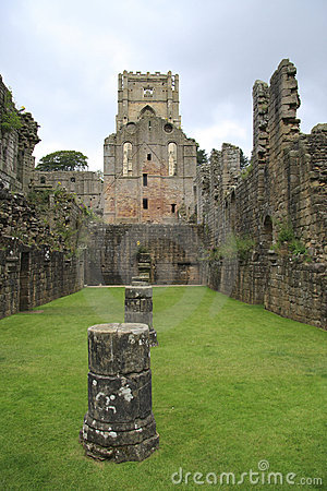 Fountains Abbey Remains
