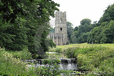 Fountains Abbey and Weir