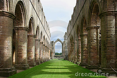 Fountains Abbey - Yorkshire - England
