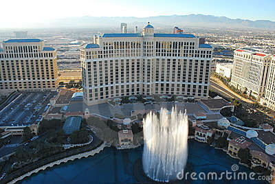 The Fountains at the Bellagio Hotel, Las Vegas Editorial Photography
