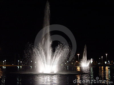 Fountains in the City