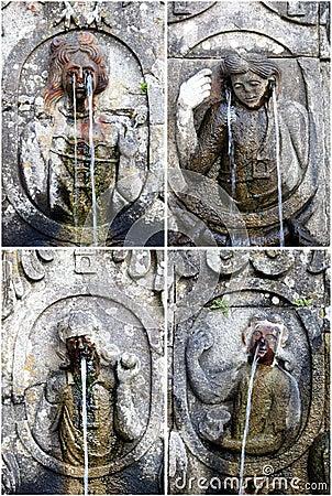 Fountains of sanctuary Bom Jesus do Monte, Braga