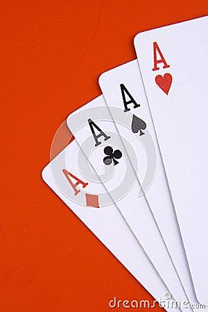 Free Four Ace Royalty Free Stock Photos - 1678208