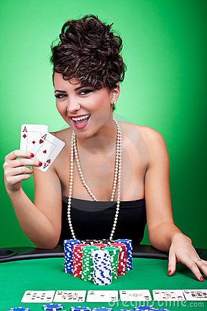 Free Four Aces Royalty Free Stock Images - 18814309