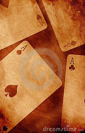 Free Four Aces Royalty Free Stock Images - 7623119