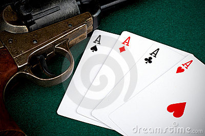 Four aces and colt
