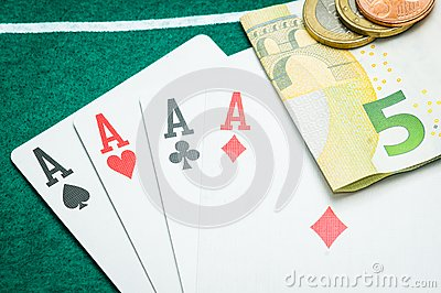 Four aces and euros