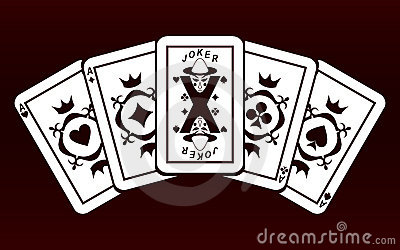 Four Aces and Joker.