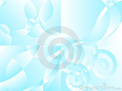 Four air backgrounds