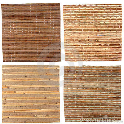 Four bamboo backgrounds