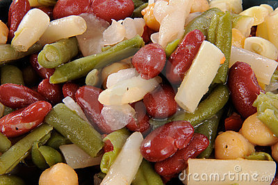 Four bean salad macro