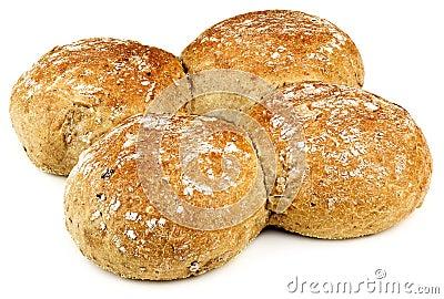 Four buns