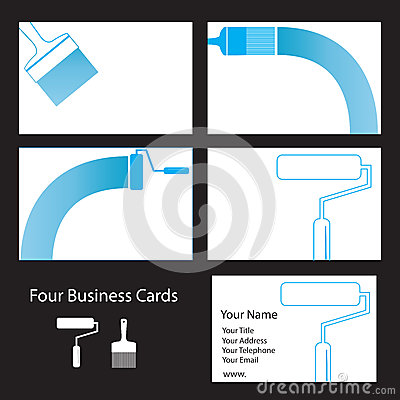 Decorator s business cards