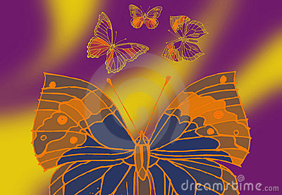 four Butterfly