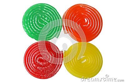 Four candies