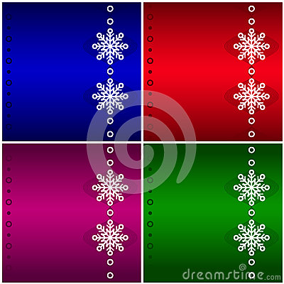 Four Christmas background.
