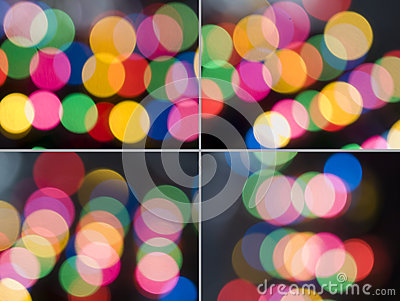 Abstract color lights