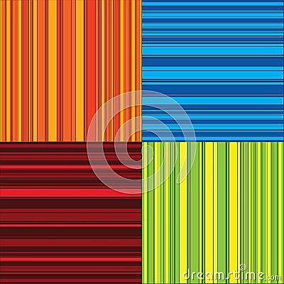 Four color stripes